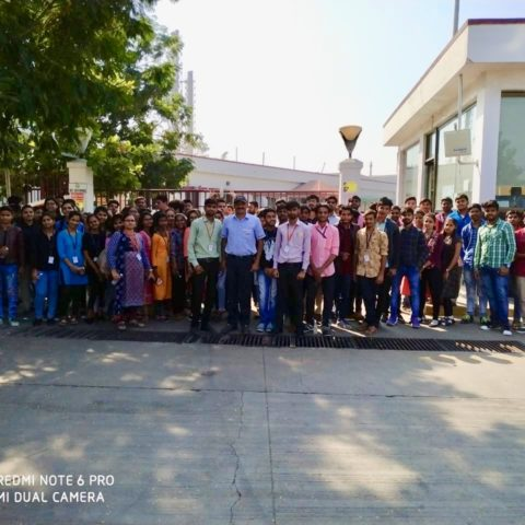 Industry Visit at 'Hindustan Coca-Cola Beverage Private Limited'