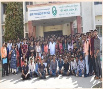 RAWE PROGRAM-EDUCATIONAL TOUR (2019) B.Sc. (Agriculture) Sem : 8th -NORTH INDIA