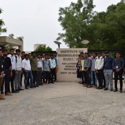 Industry Visit – The Institute of Seismological Research – 26th July, 2018