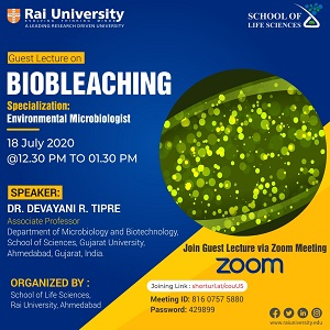 Guest Lecture on BIOBLEACHING