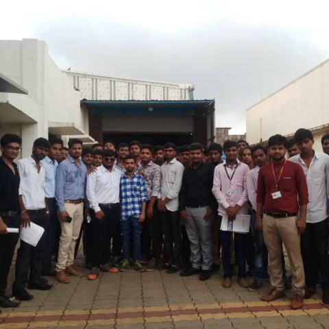 Industry Visit- Green Field Control System Ltd. – B.Tech Mechanical Engineering –30th August, 2017