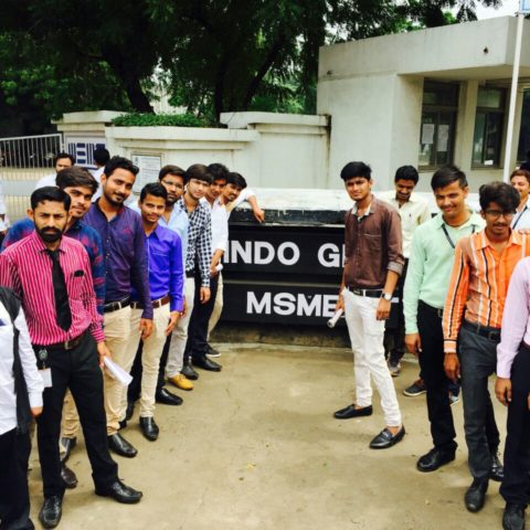 Industry visit- Indo German Tool Room -29th August 2017-B.Tech