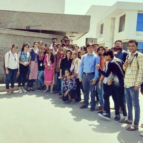 Industry Visit in SAGA Laboratories