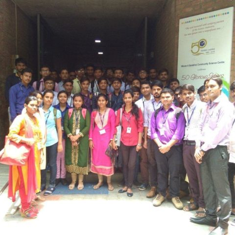 Industrial Visit at VASCSC, Ahmedabad