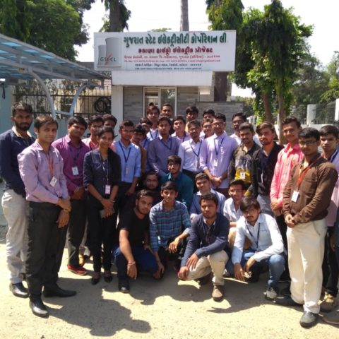 Industrial Visit at G.S.E.C.L Kadana Hydro Power Plant on 4th October 2017