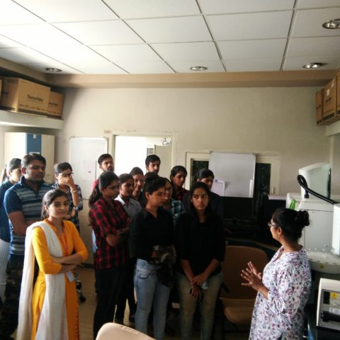 Industrial Visit at Gujarat State Biotechnology Mission (GSBTM), Department of Science and Technology (DST), Government of Gujarat (GoG)