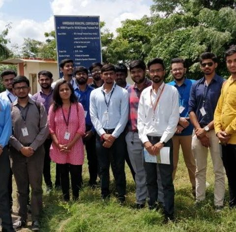 Industry Visit- Sewage Treatment Plant-Pirana