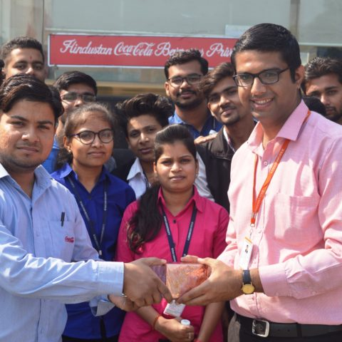 Industrial Visit at 'Hindustan Coca-Cola Beverage Private Limited'