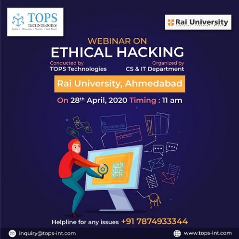 Ethical Hacking on 28th April, 2020