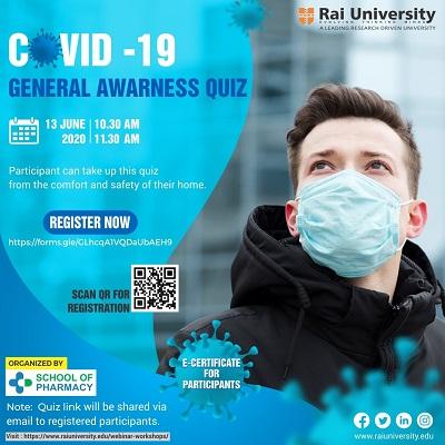 COVID-19 General Awarness Quiz on 13 June 2020